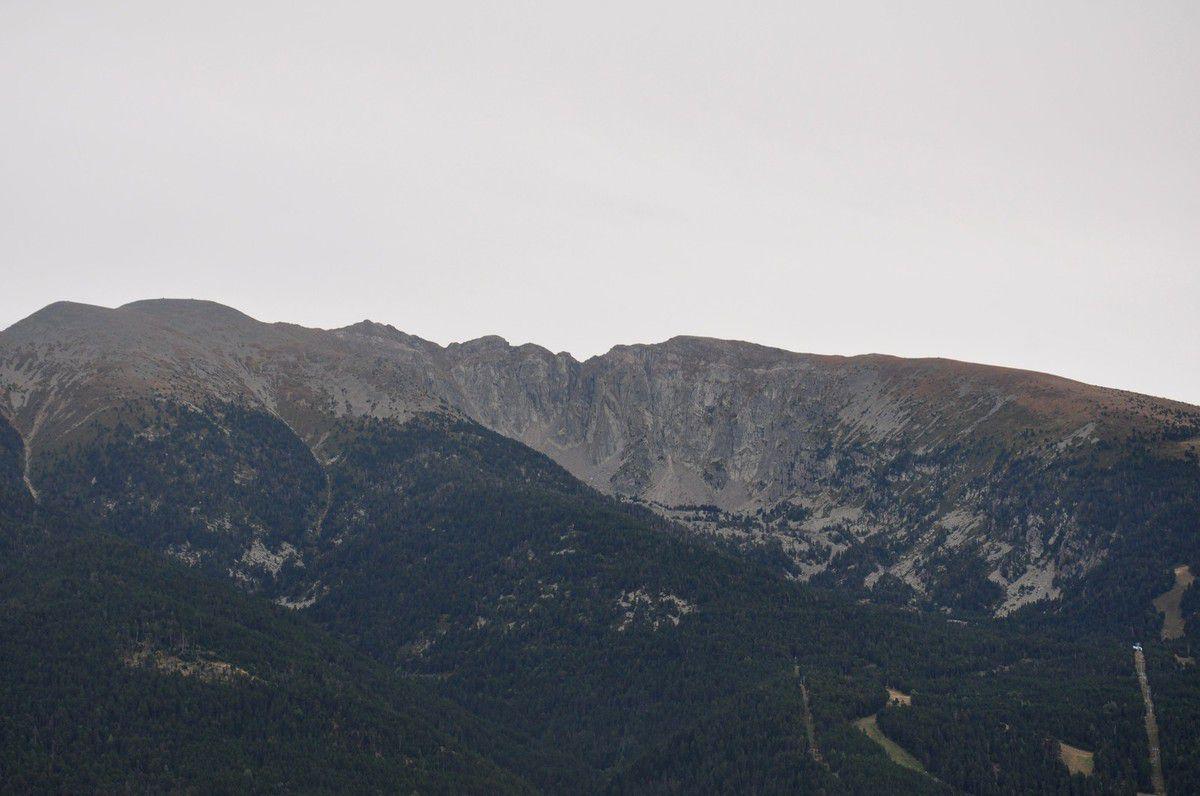 Et la montagne est belle par ici.