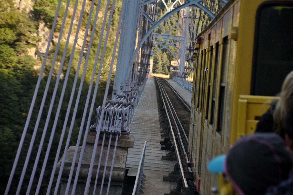 Pont Gisclard pour le retour.