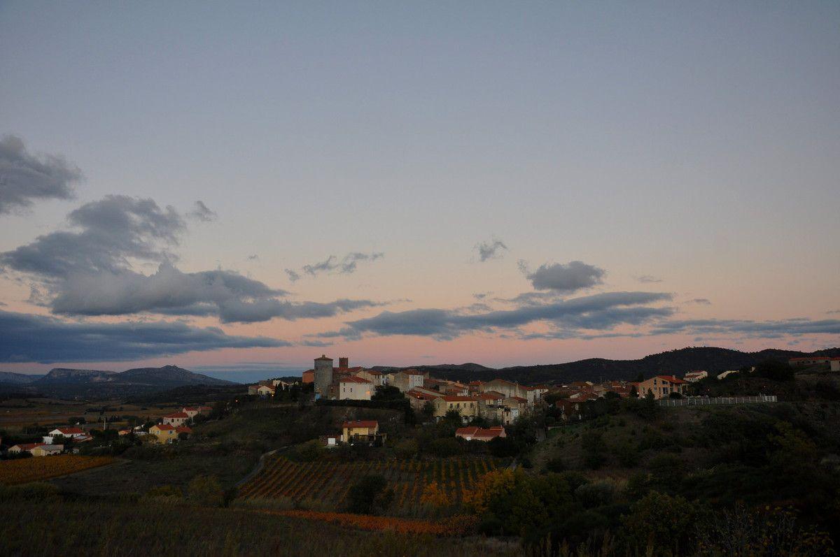 Le village de Montner, en face.