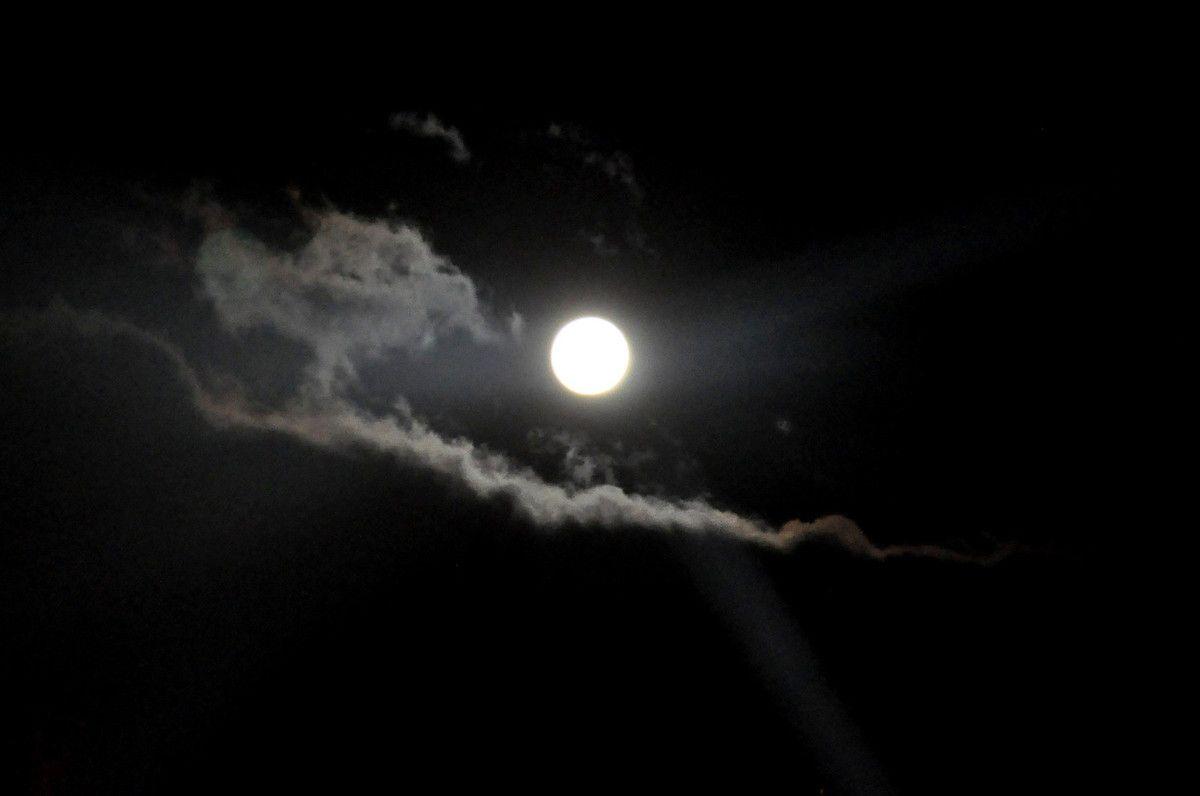 Une belle lune, plus grande je ne sais pas ....