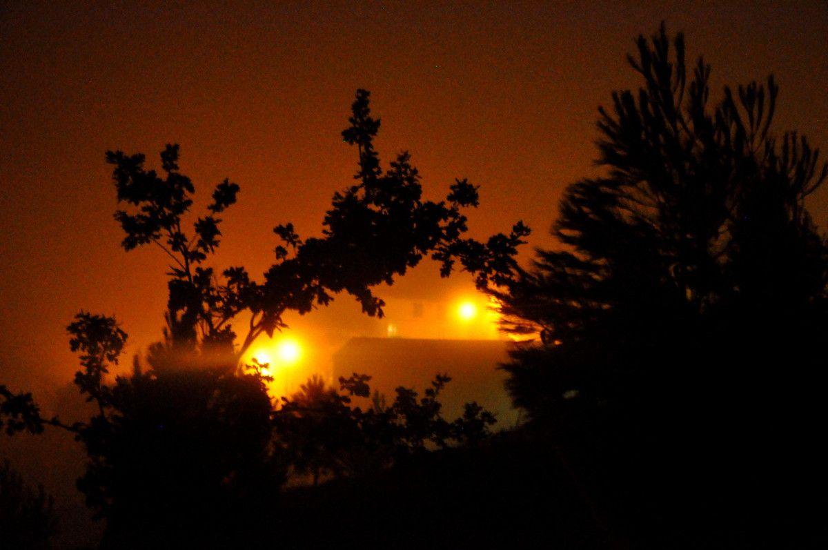L'éclairage public et brouillard, un duo superbe en photos.