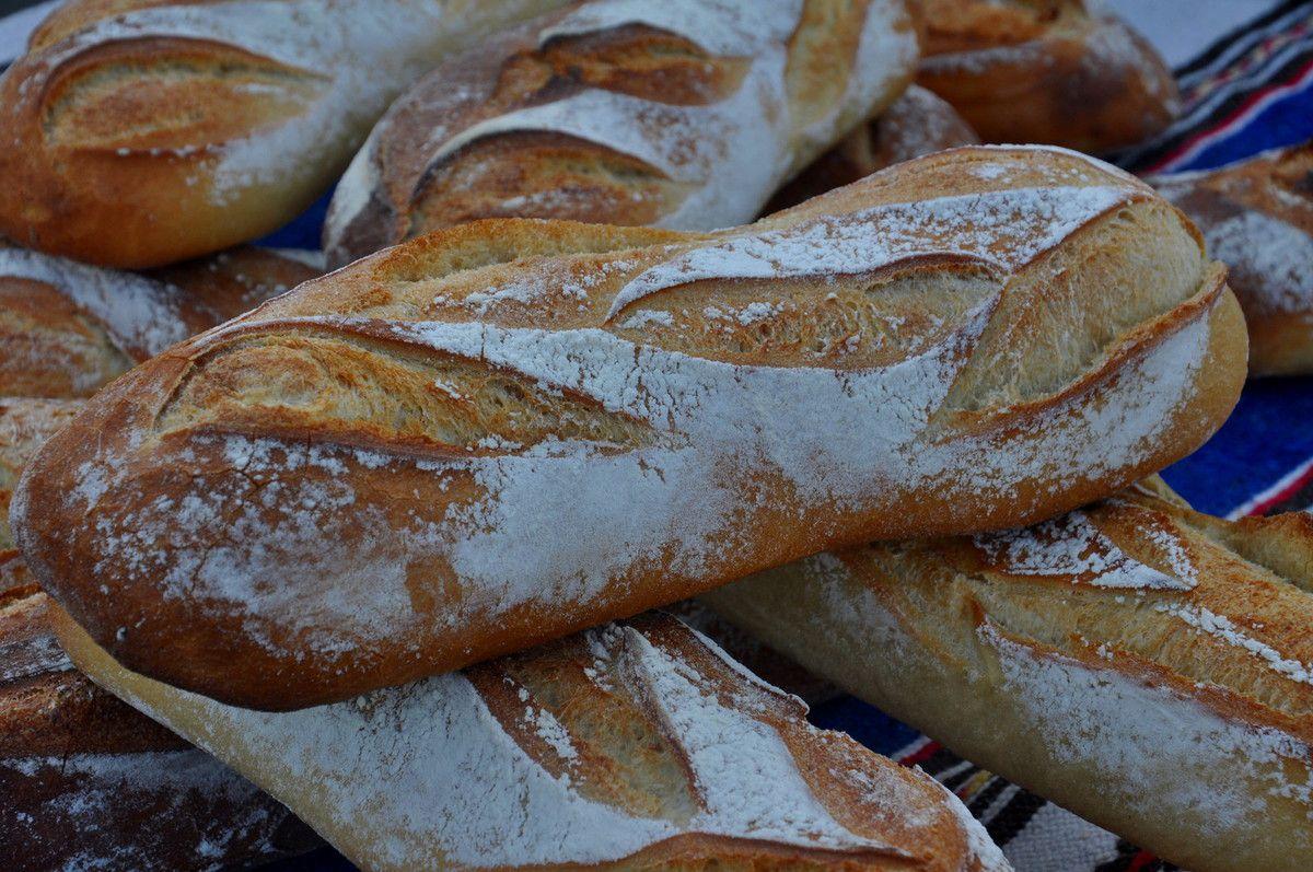Les pains.