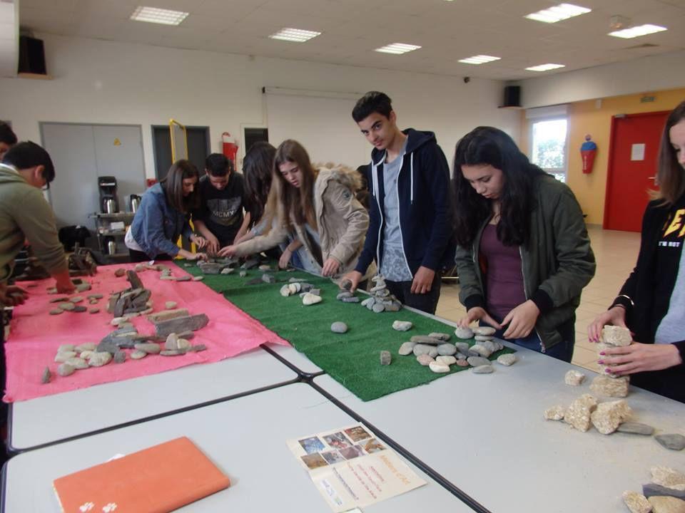 Journée pédagogique à la découverte des métiers d'art au collège de Jules Verne du Soler