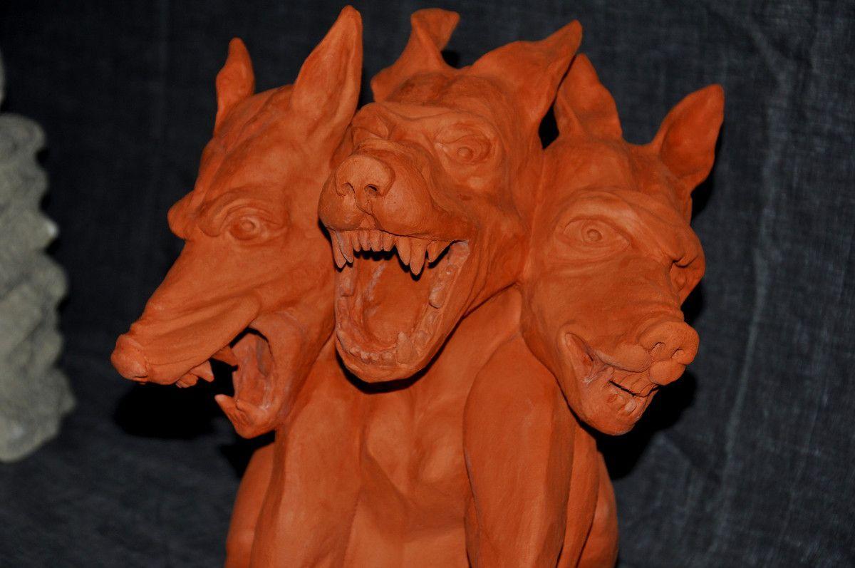Sculptures en terre cuite d'Elisabeth Loupias
