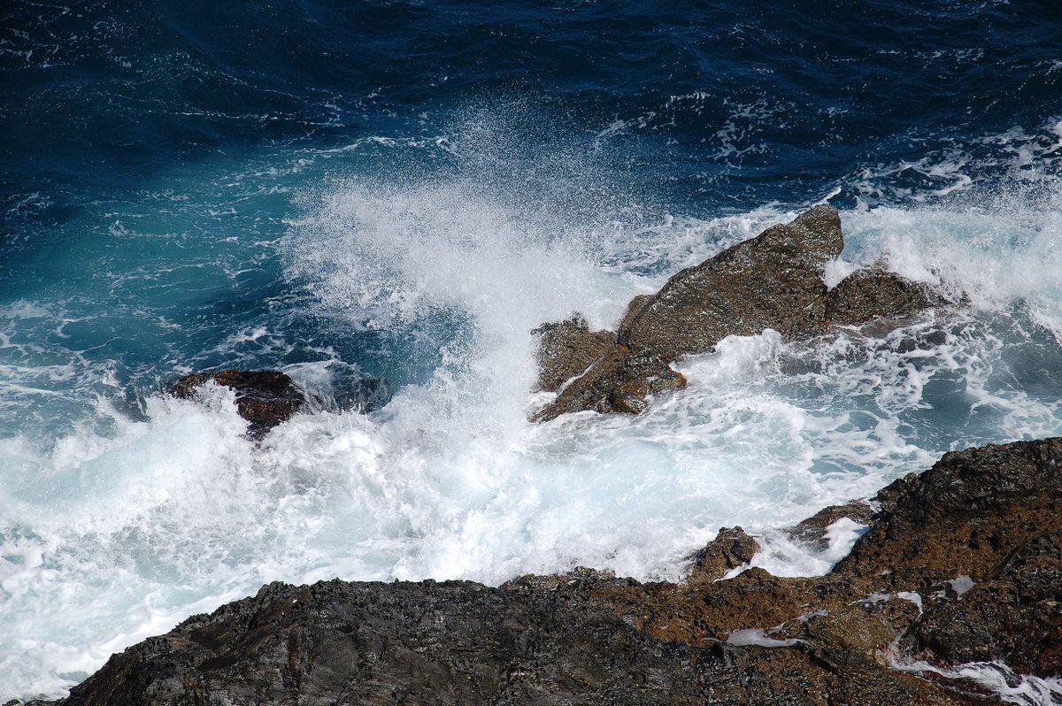 La mer et la cote.