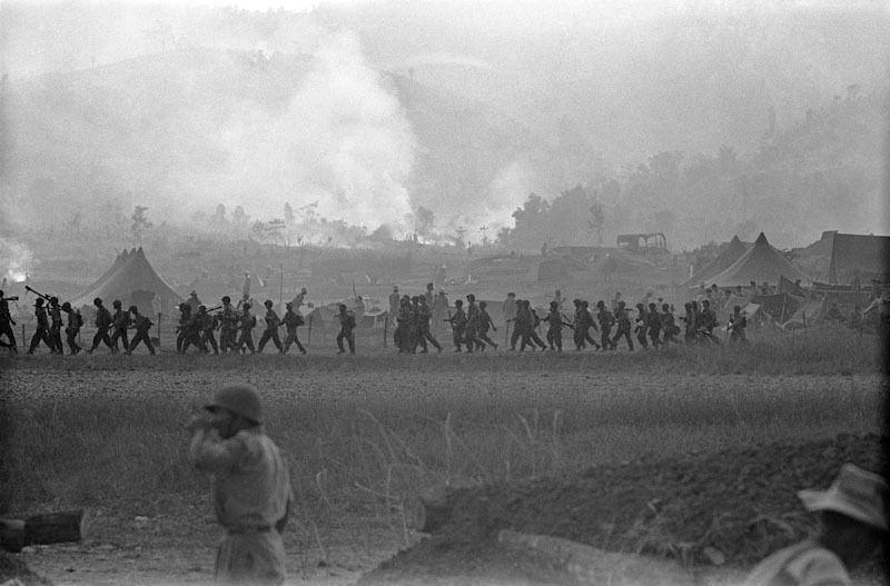 Na-Sam, camp fortifié, 1952 Le Verdun de l'Indochine. Bataille de Na-sam encerclé par deux divisions de vietminh.