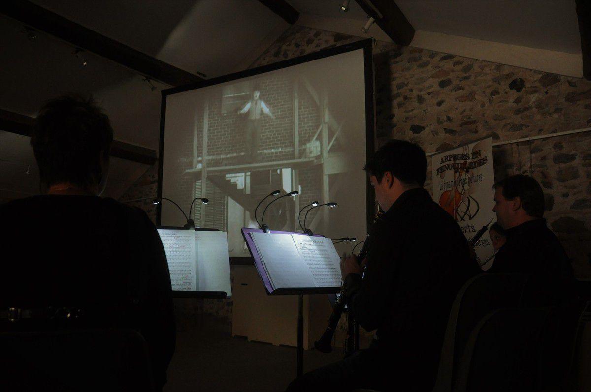 Un ciné-concert avec Arpèges en Fenouillèdes en 40 photos