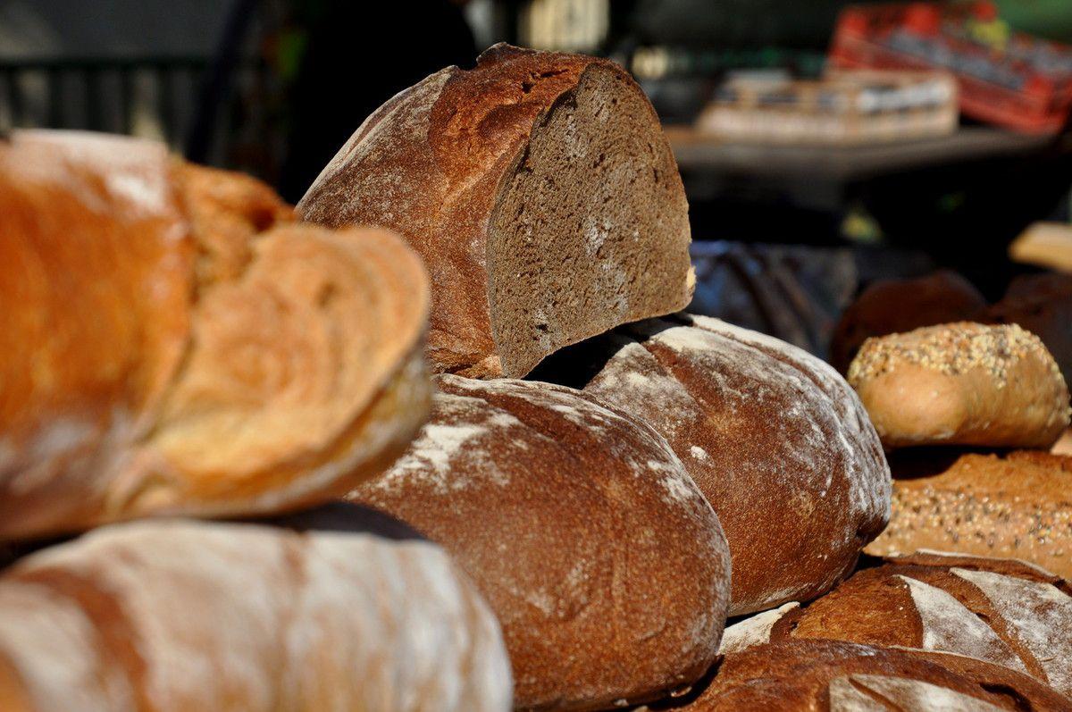 Les pains artisanaux.