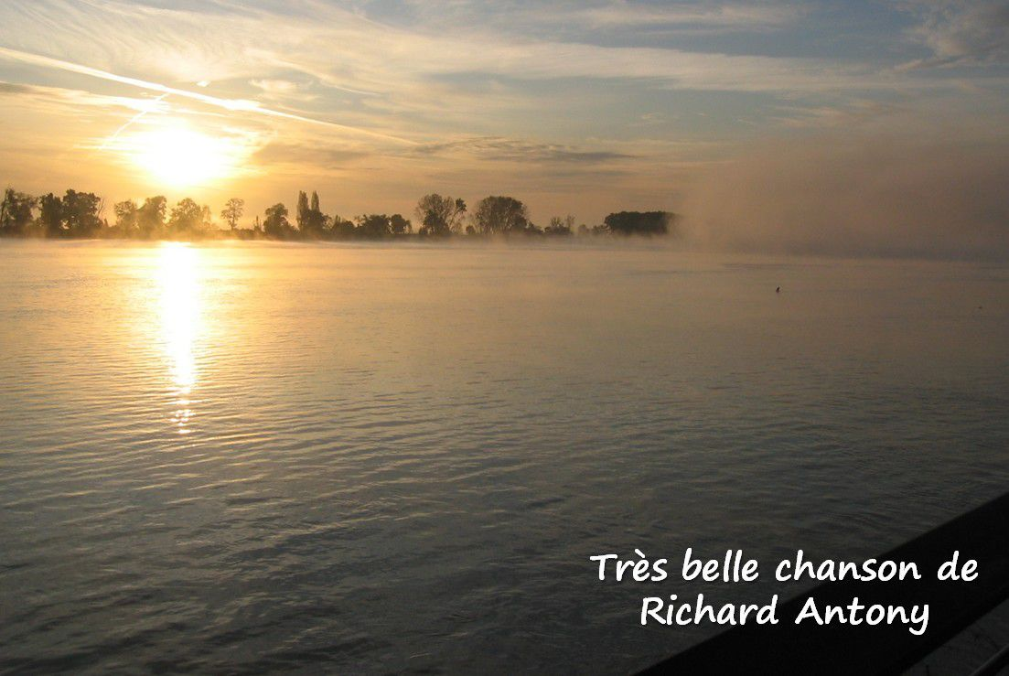 belle chanson de Richard Anthony - un visionnaire ?