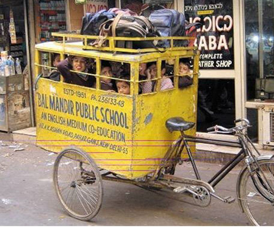 transports scolaires .... humour !!!