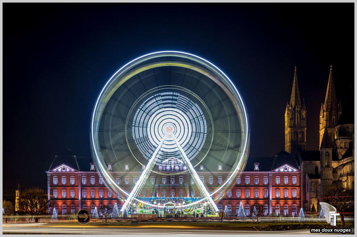 Mairie de Caen, grande roue manège