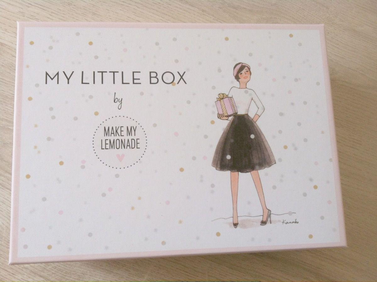 Ma little box de décembre avec Make my limonade!