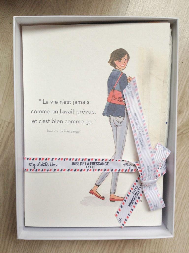 My little box de février, la little Ines de la Fressange Box
