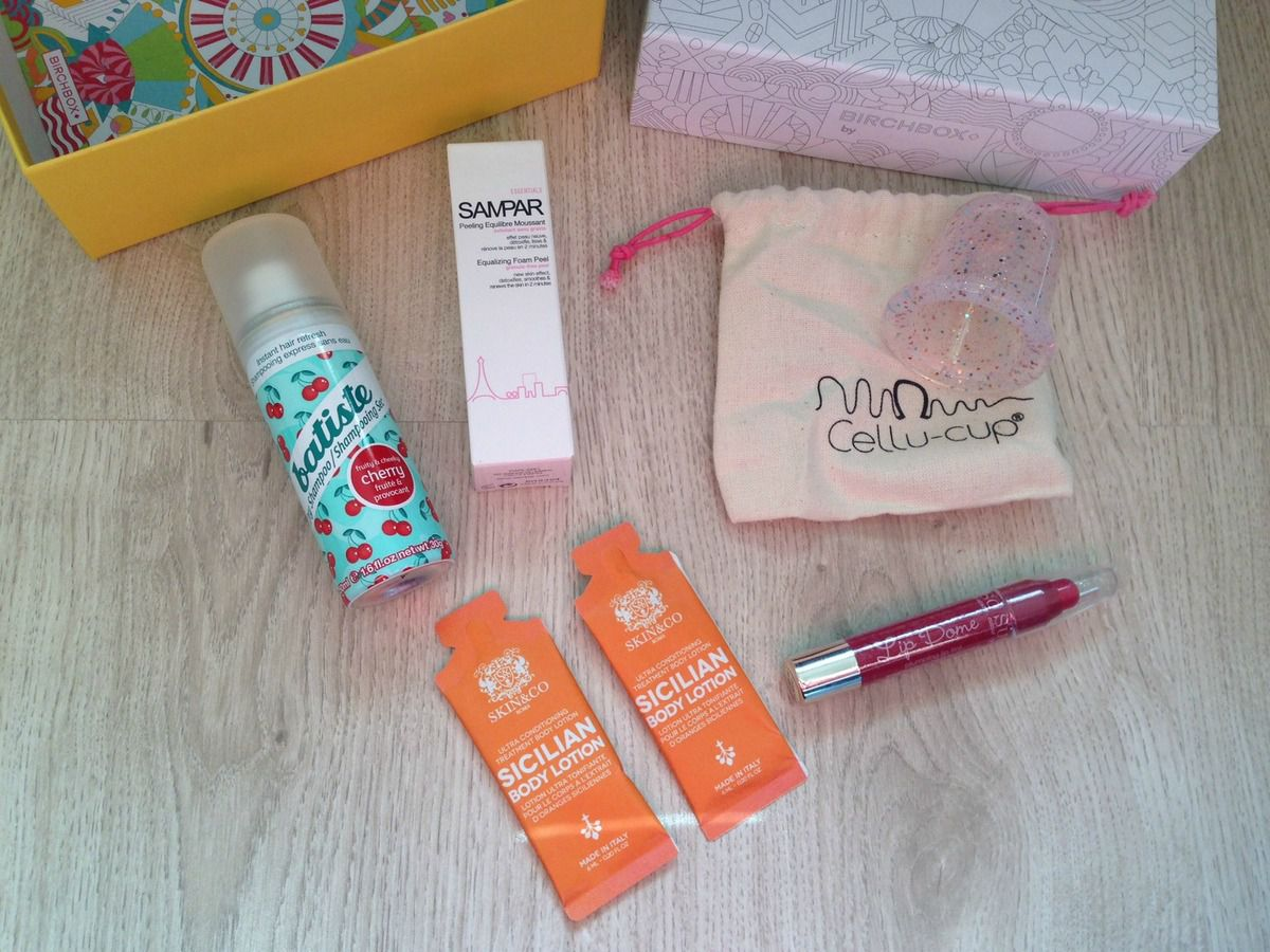 Birchbox de Mars: Mine de printemps