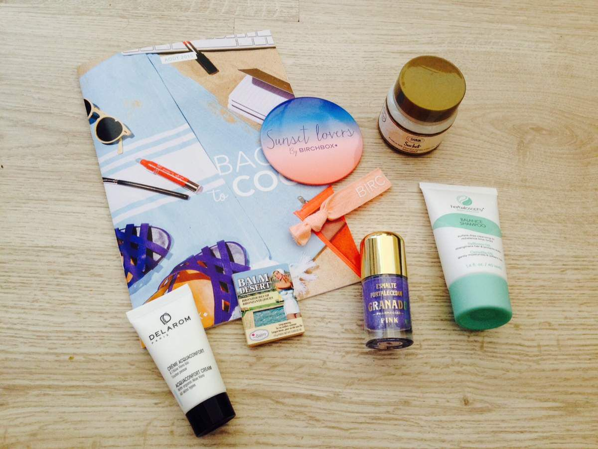 Birchbox back to cool, Aout