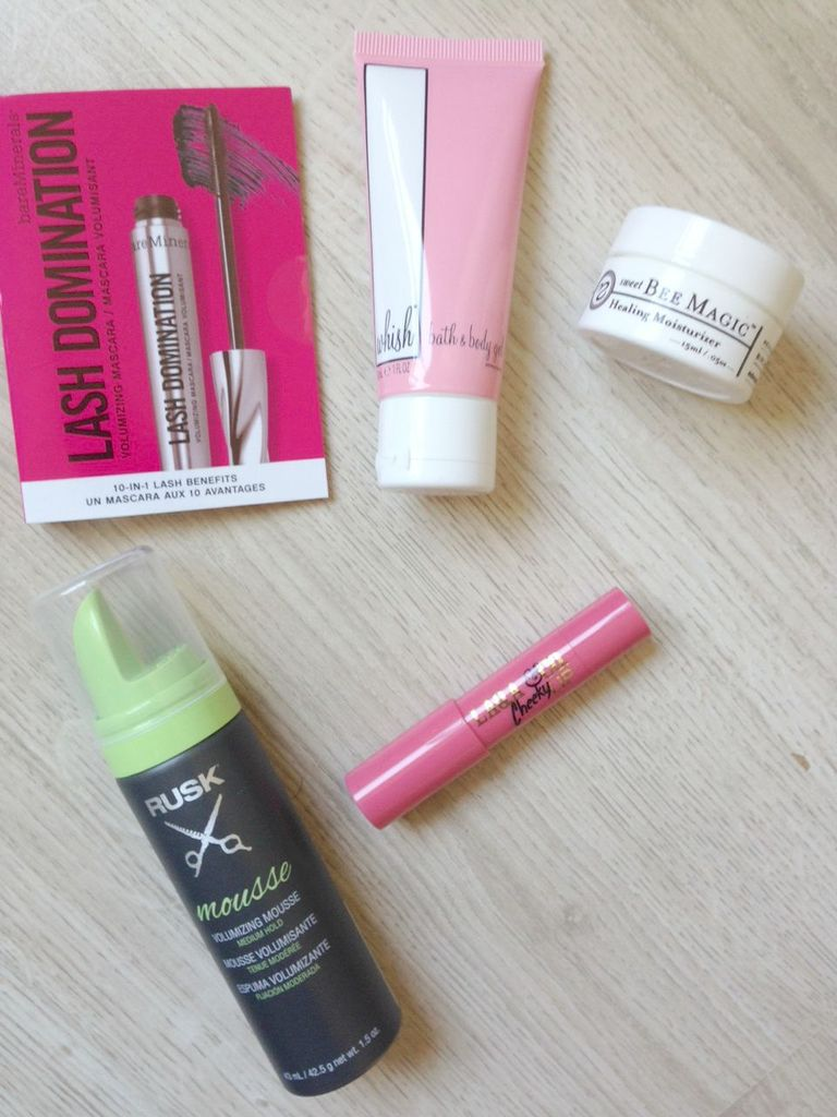 Birchbox de septembre, from US with Love