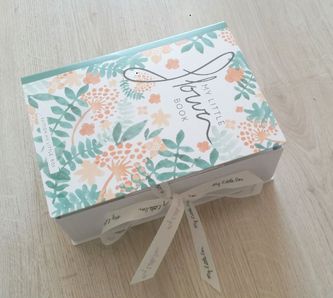 My little box d'avril: my little flower box, un carton plein!