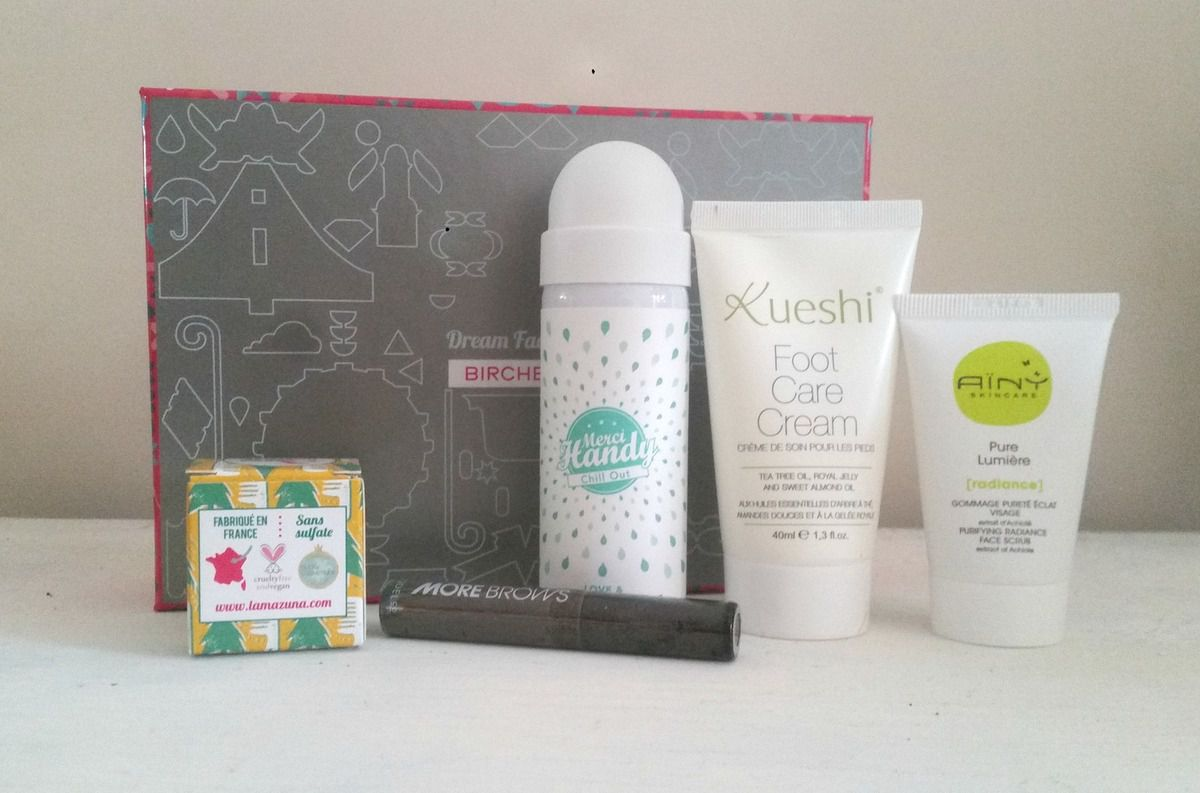 Birchbox de Mai: Dream factory