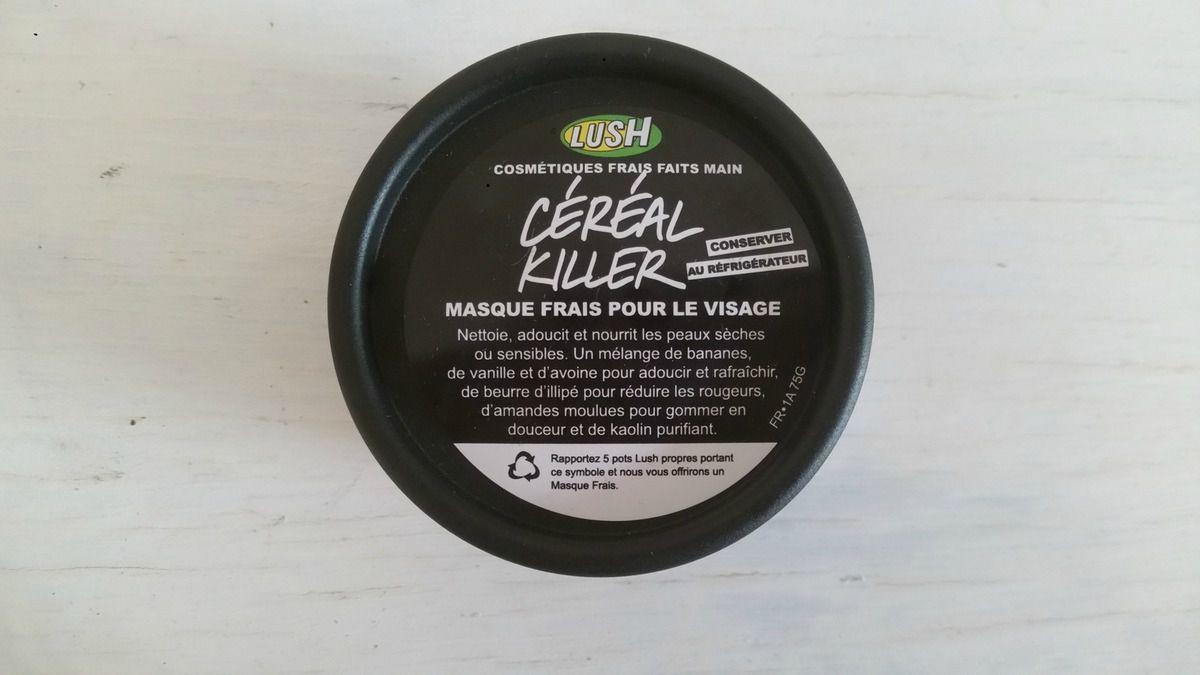 Le masque céréal killer de chez Lush