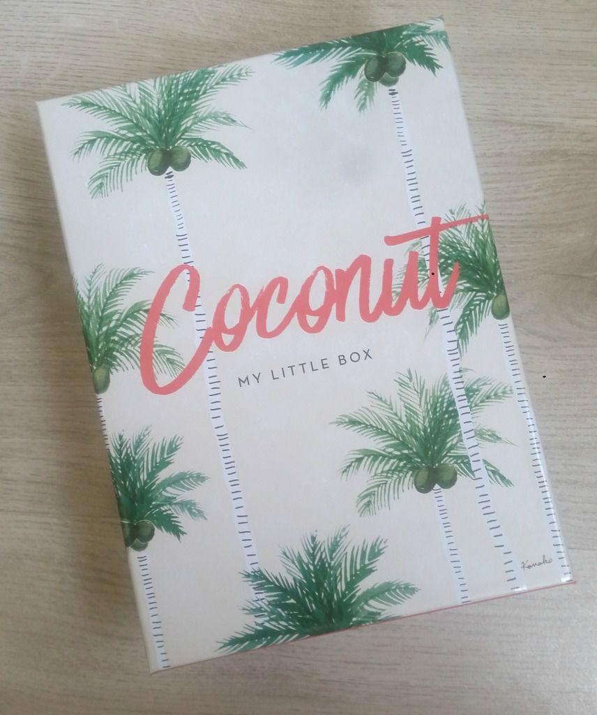 My little coconut box, la box canon de juillet de chez My little box