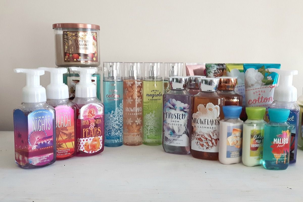 Haul bath and body works janvier 2017