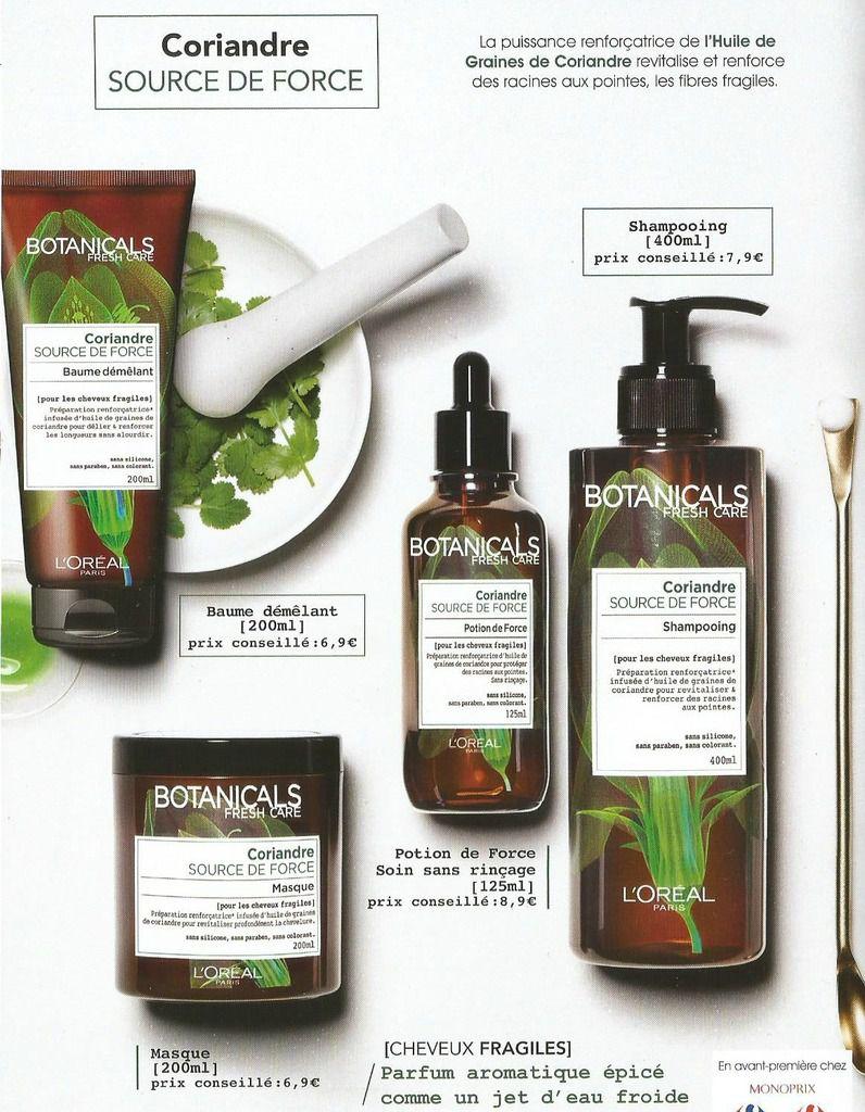 Présentation de la nouvelle gamme capillaire de chez l'oréal: Botanicals Fresh Care