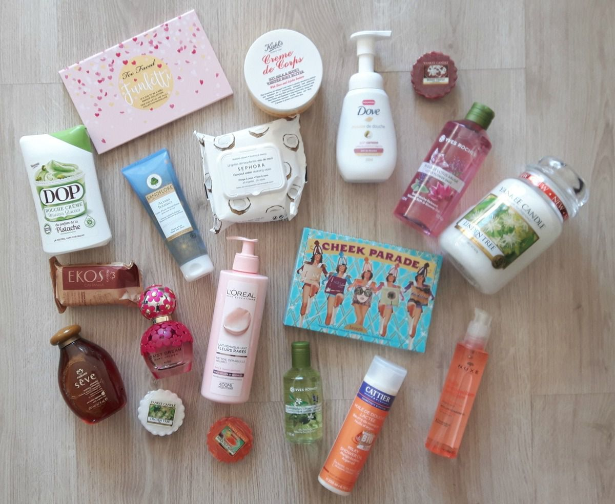 Big Haul janvier/février/Mars: Marc Jacobs, Yves Rocher, Benefit, Too faced, Séphora, Yankee Candle...
