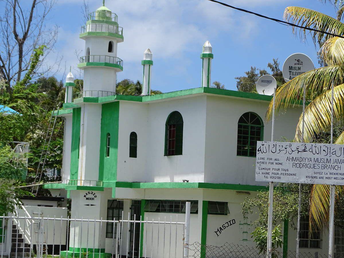 La mosquée Noor-ud-Deen.