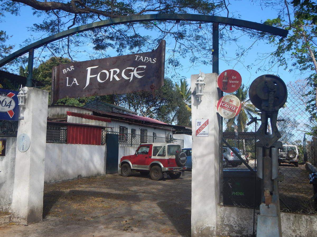 Le restaurant &quot&#x3B;La Forge&quot&#x3B; à Tsingoni