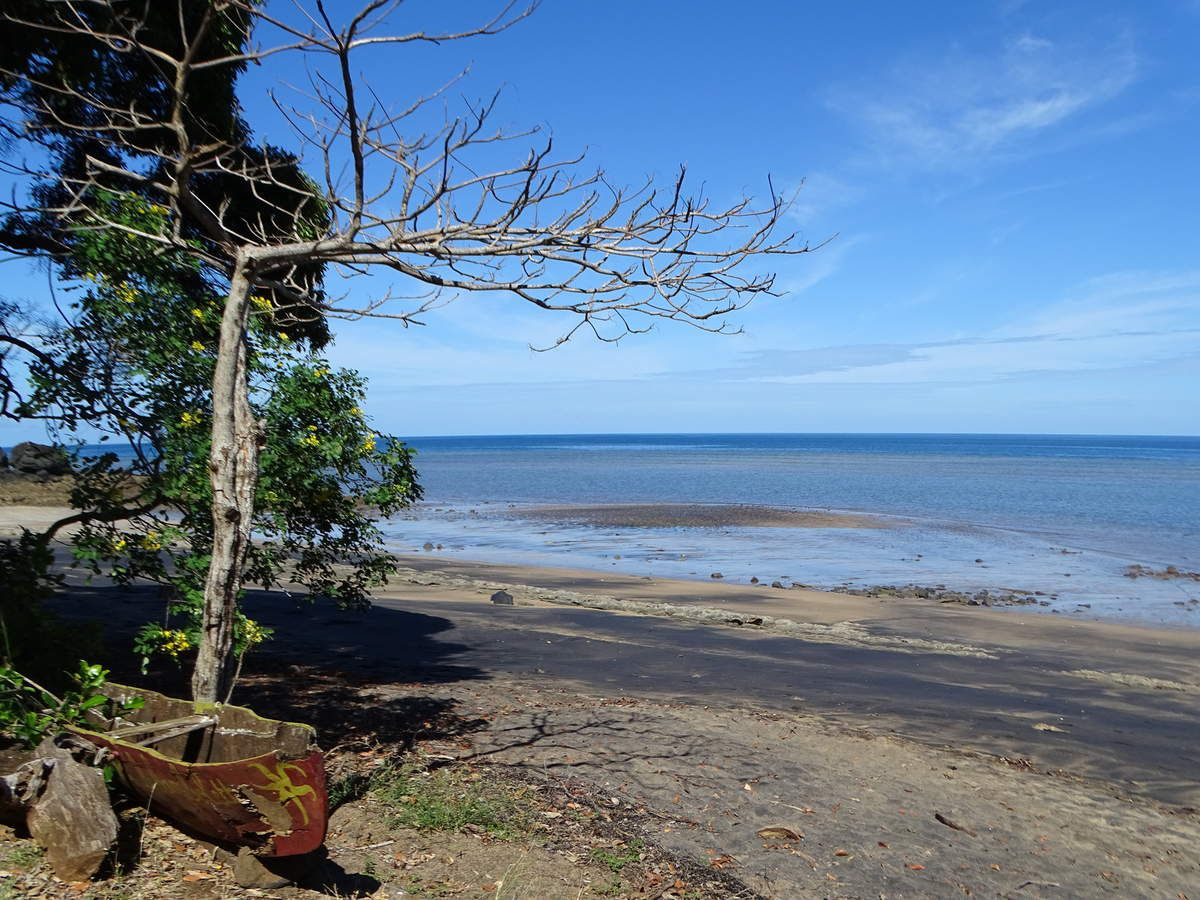 La plage de Gouela ou plage Robinson