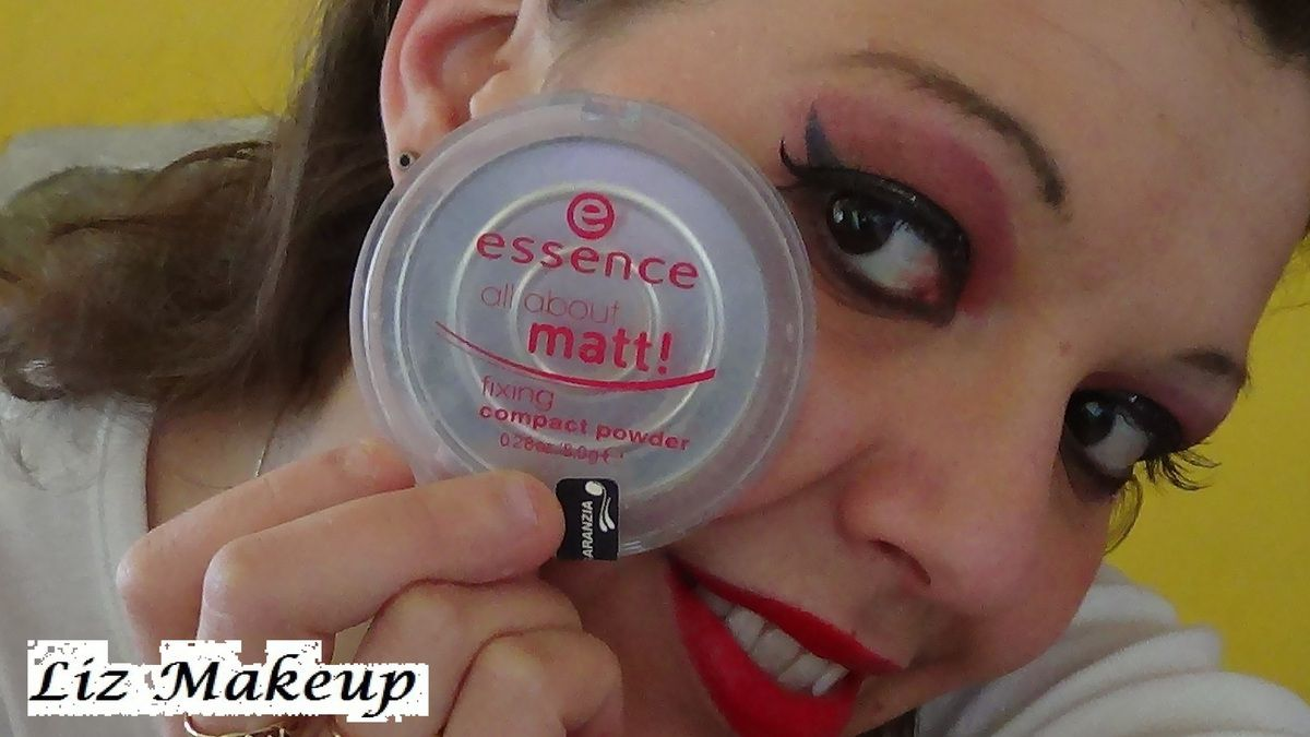 Essence Cipria Compatta All About Matt