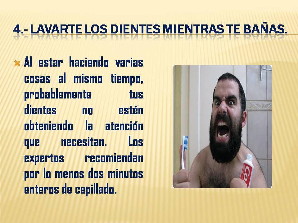 Ocho malos hábitos que se deben evitar cuando nos bañamos.