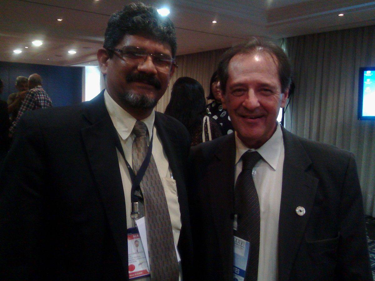 Con Dr. Mario Rovere