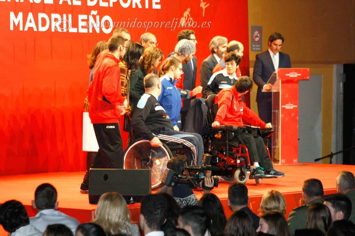 Homenaje a los deportistas de la Comunidad de Madrid