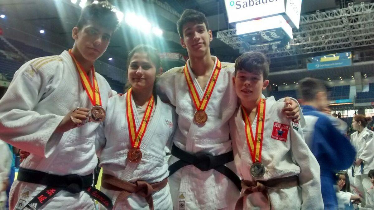 Judo Alcorcón en la Final de España