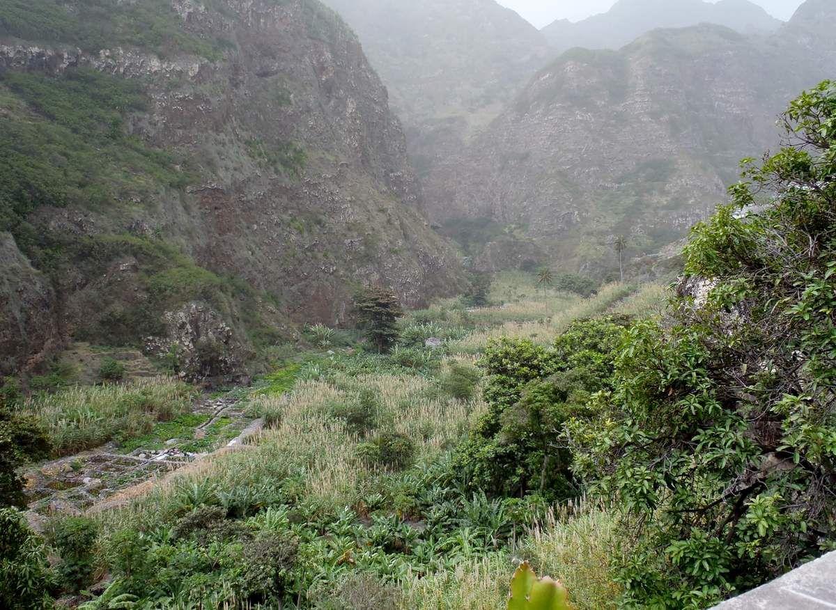 Hoch über dem Paúl-Tal