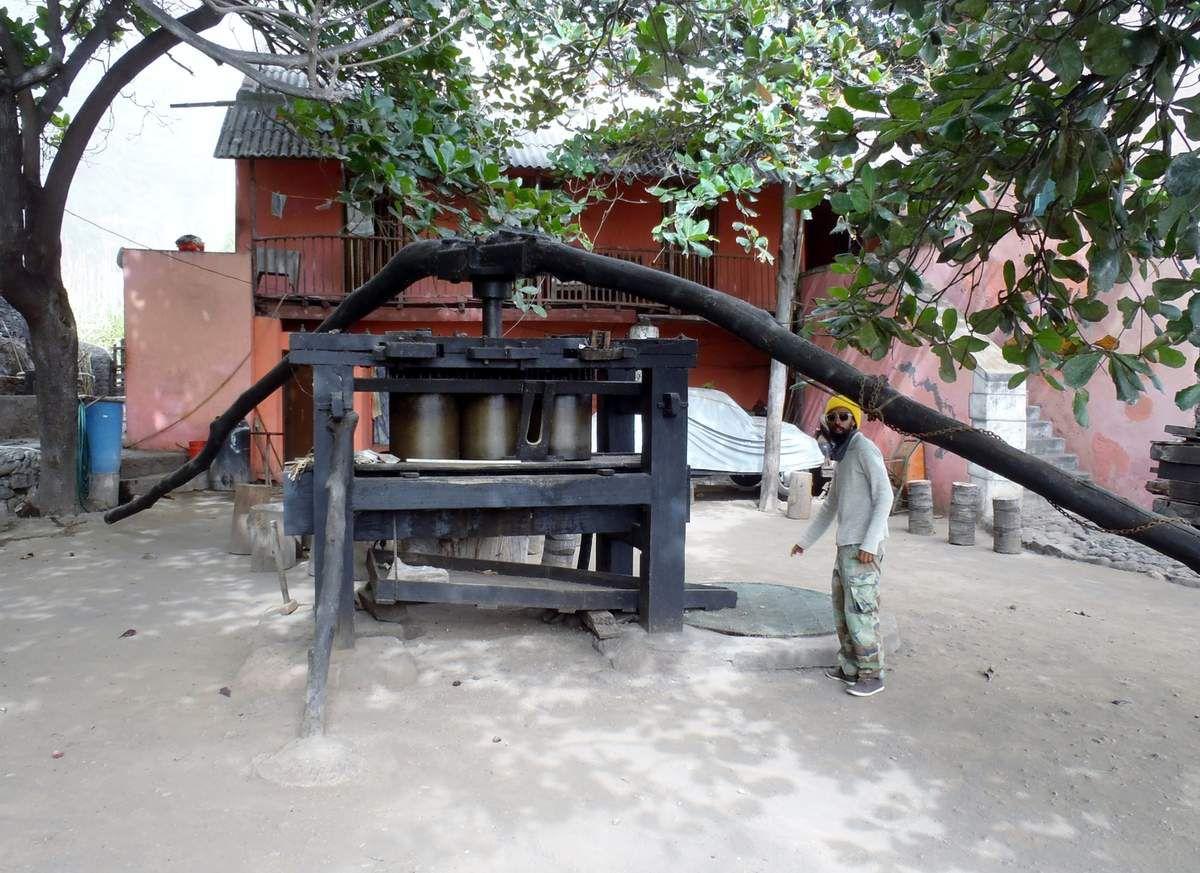In der traditionellen Grogue-Mühle