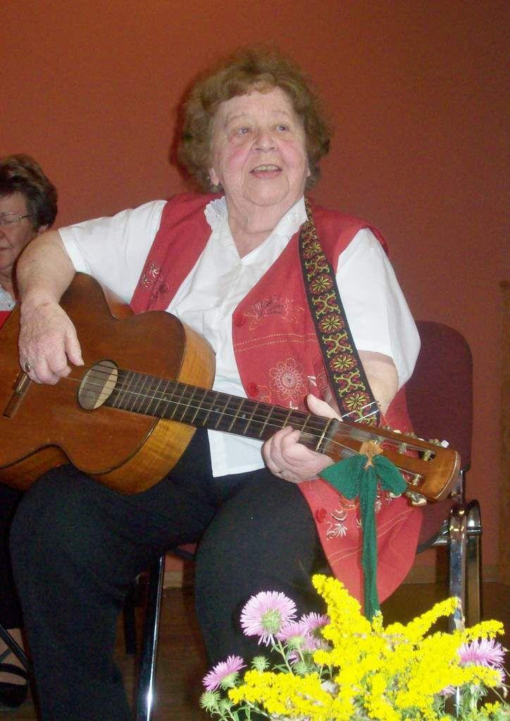 Abschied von der Lychener Musikerin Erika Bondzio