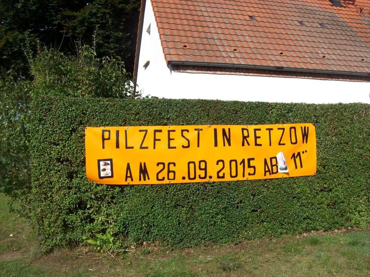 Pilzfest in Retzow