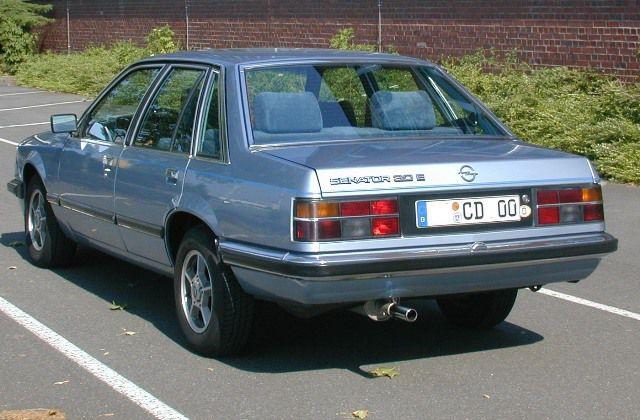 PRUEBA: Opel Senator 3.0E