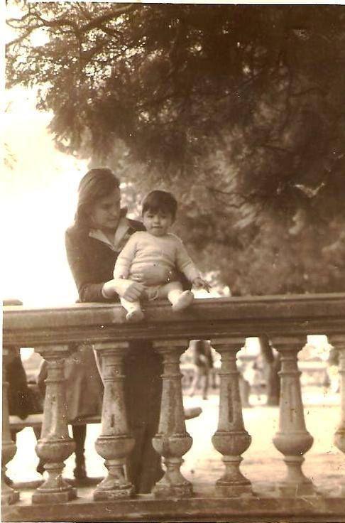 Mamá y yo en Belgrano