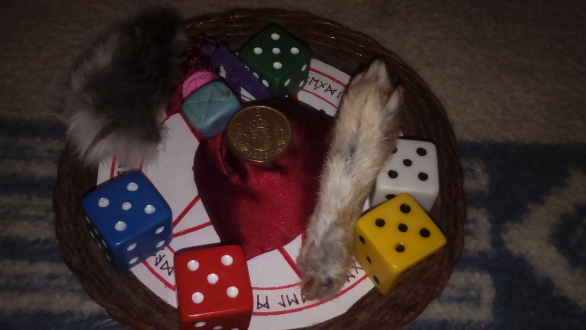 Ritual de la fortuna,  saquito,  talismán de la suerte