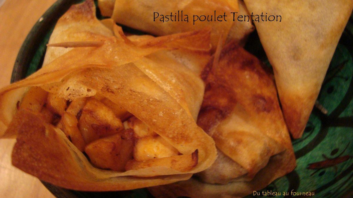 pastilla poulet tentation