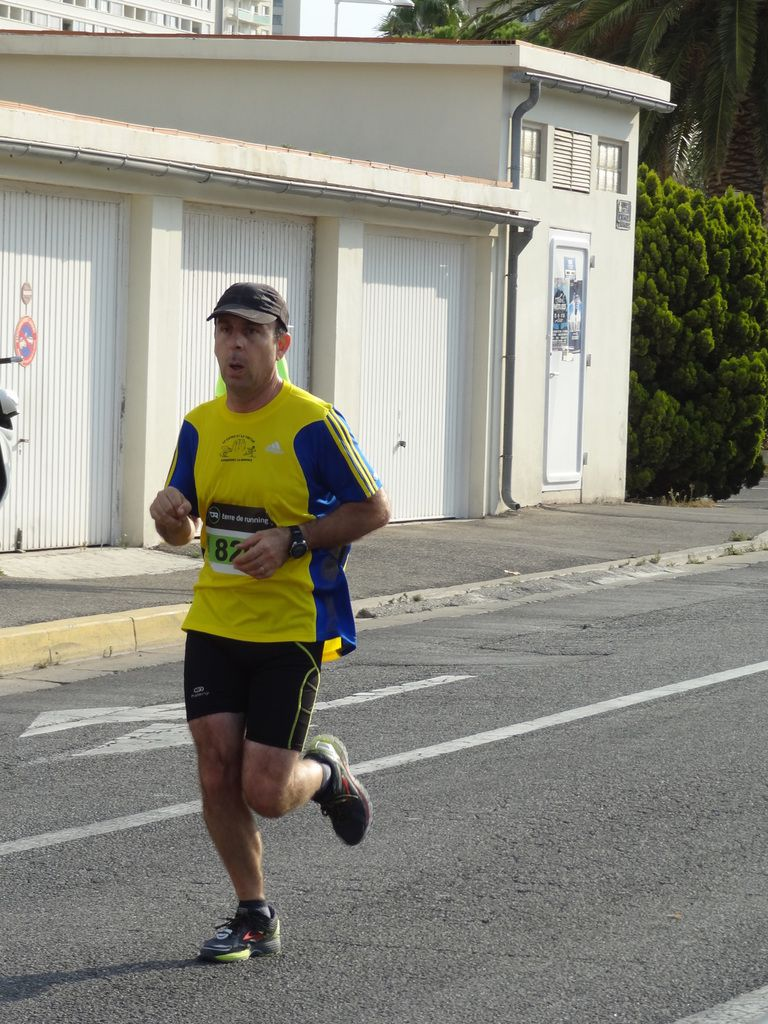 Laurent, lors du 10kms de Toulon