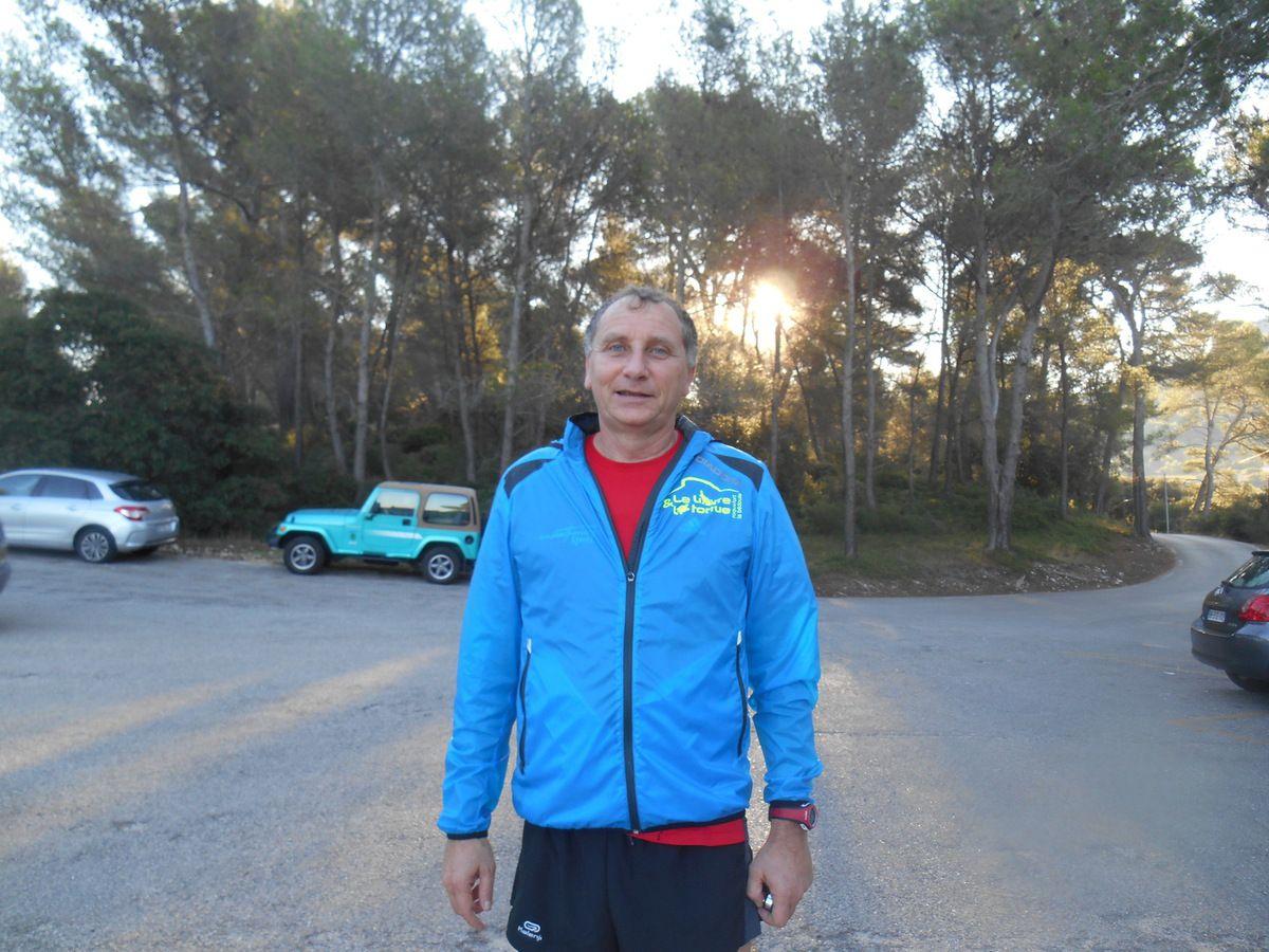 LAURENT M. avant l'entraînement