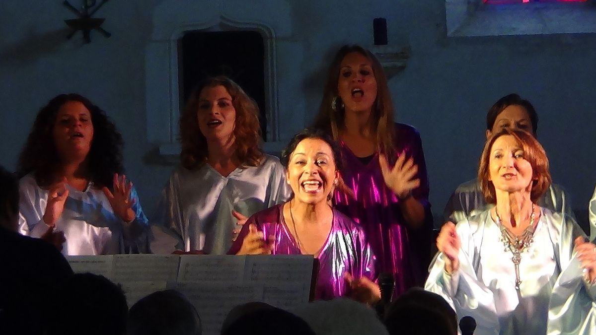 Concert Gospel - 16 août 2015 - église de Rignat