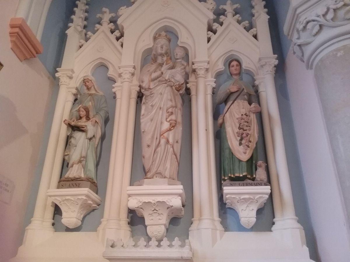 Visite de l'église de Ramasse