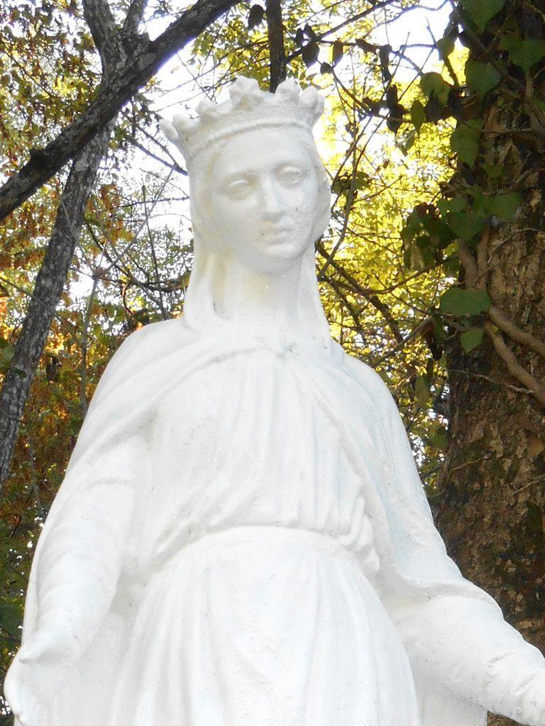 Toilette automnale de la Vierge de Meyriat