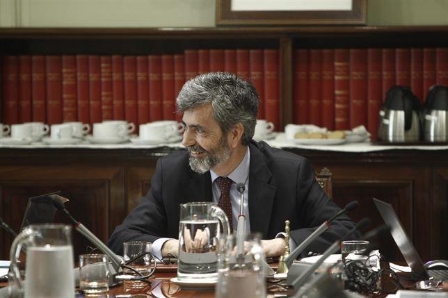 """Carlos Lesmes Presidente del CGPJ - """"La transparencia en lo publico es un antidoto frente a los excesos"""""""