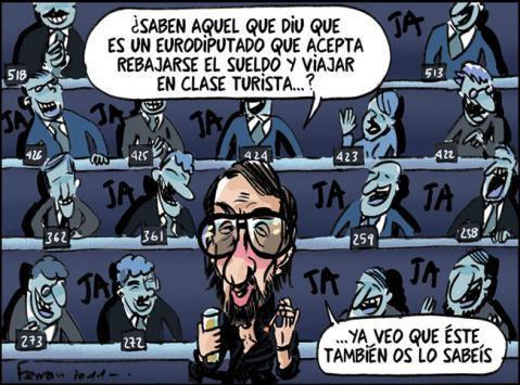 ESPAÑA: Estamos tan preocupados por los ladrones que habitan suelo español - que a veces se nos olvidan los que &quot&#x3B;anidan&quot&#x3B; en las Instituciones europeas - Eso si que es una &quot&#x3B;burbuja&quot&#x3B; - Miles y miles de millones de euros sin control de ningun tipo - Nadie quiere hablar del asunto -  pero cuando explote nos llevará directamente a la tercera guerra mundial - Ya se nos ha olvidado &quot&#x3B;la Comisión Santér&quot&#x3B; y los &quot&#x3B;carruseles del IVA&quot&#x3B; - Lo de hoy es aún mas gordo